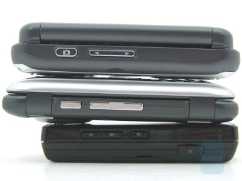 From top: VX9800, enV, Chocolate - LG enV Review