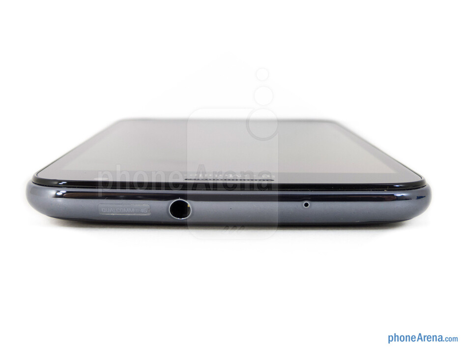 3.5mm jack (top) - The sides of the T-Mobile Samsung Galaxy Note - T-Mobile Samsung Galaxy Note Review