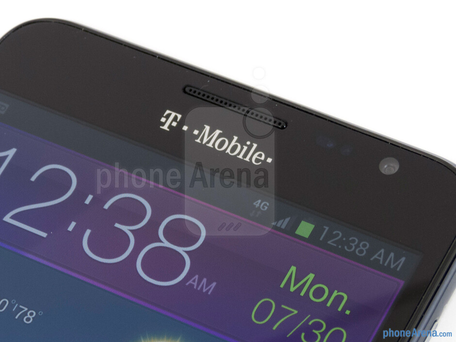 Front-facing camera - T-Mobile Samsung Galaxy Note Review