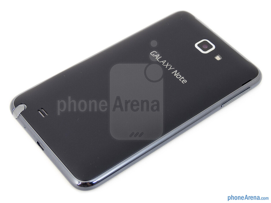 Back - T-Mobile Samsung Galaxy Note Review