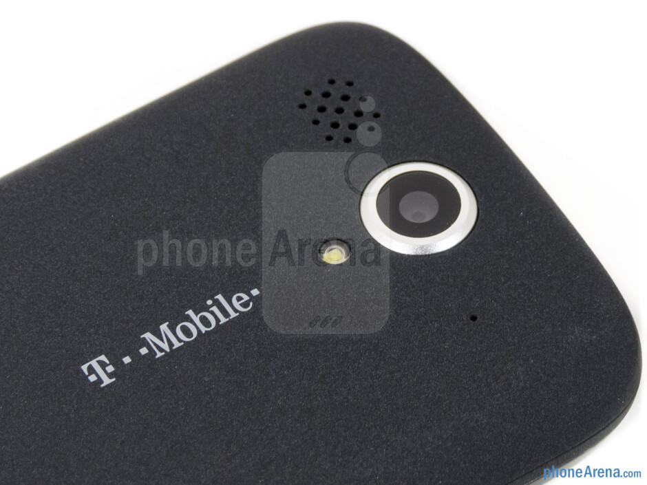 Rear camera - T-Mobile myTouch Review