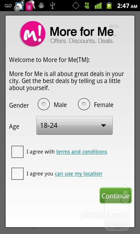 Preloaded T-Mobile and third party apps - T-Mobile myTouch Review
