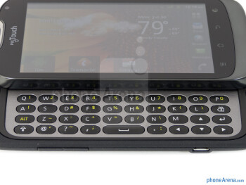 The physical keyboard - T-Mobile myTouch Q Review