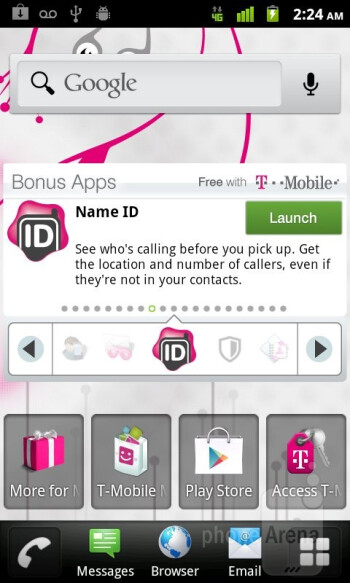 The T-Mobile myTouch Q sticks to Android 2.3.6 - T-Mobile myTouch Q Review