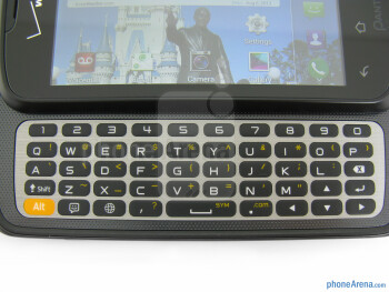 The physical QWERTY keyboard - Pantech Marauder Review