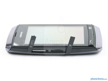 The sides of the Nokia Asha 305 - Nokia Asha 305 Review