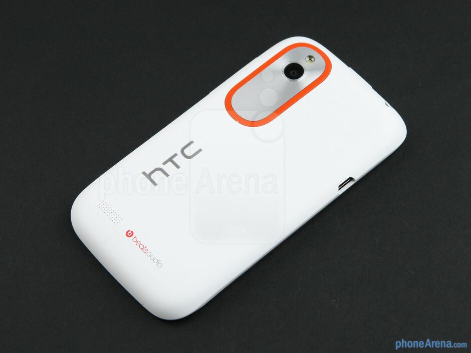 Back - HTC Desire V Review