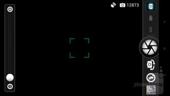 Camera interface - Asus PadFone Review