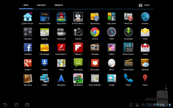 PadFone Station interface - Asus PadFone Review