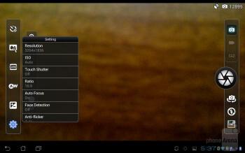 Camera app - Asus PadFone Review