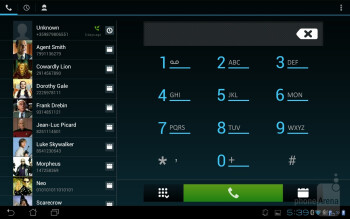 Contacts - Dynamic Switching is only supported by Android's native applications - Asus PadFone Review