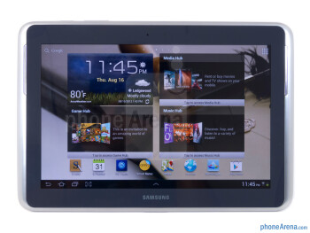 Front - Samsung Galaxy Note 10.1 Review
