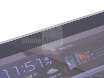 Front camera - Samsung Galaxy Note 10.1 Review