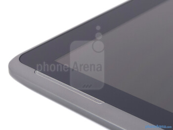 Speaker on the side - Samsung Galaxy Note 10.1 Review