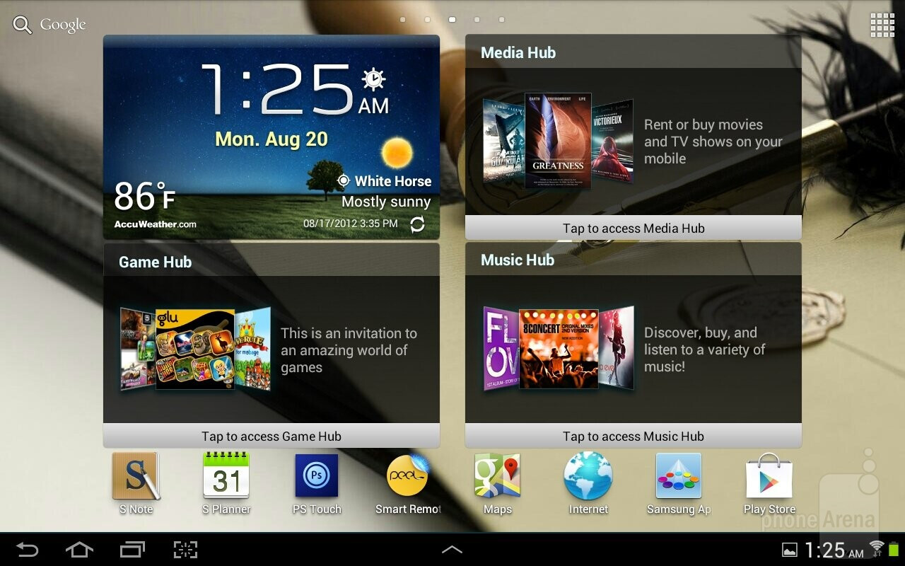 samsung galaxy note 10 1 review interface and. Black Bedroom Furniture Sets. Home Design Ideas