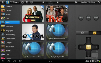 The Peel Smart Remote app - Samsung Galaxy Note 10.1 vs Apple iPad 3