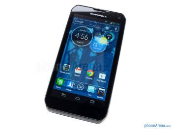 The 5-row QWERTY keypad - Motorola PHOTON Q 4G LTE Review