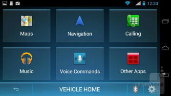 The Vehicle Mode app - Motorola PHOTON Q 4G LTE Review