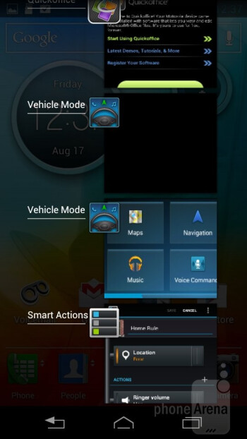 The Motorola Photon Q 4G LTE is powered by Android 4.0 Ice Cream Sandwich - Motorola PHOTON Q 4G LTE Review