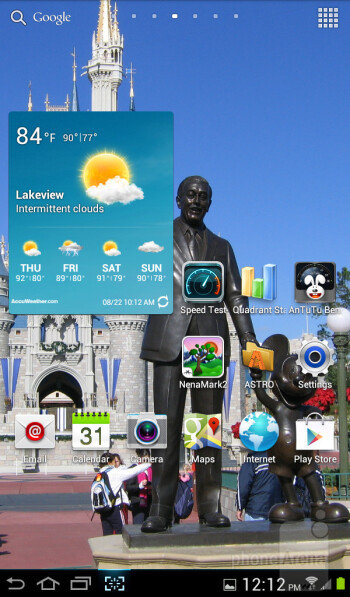 Samsung Galaxy Tab 2 (7.0) runs Android 4.0.4 Ice Cream Sandwich out of the box - Samsung Galaxy Tab 2 (7.0) LTE Review