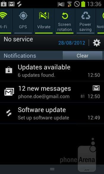 Two thumbs up to Samsung for pre-installing Android 4.0 on the Galaxy S Duos - Samsung Galaxy S Duos Preview