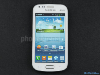 Samsung Galaxy S Duos has a 4-inch screen with a resolution of 480 by 800 pixels - Samsung Galaxy S Duos Preview