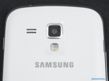 The 5MP rear camera - Samsung Galaxy S Duos Preview
