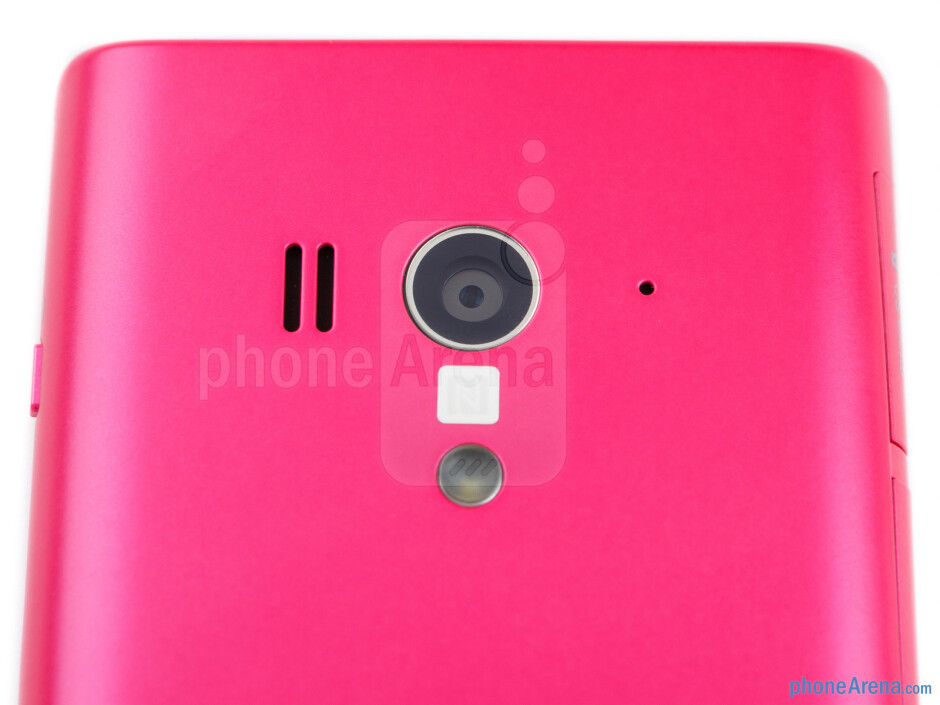 Rear camera - Sony Xperia acro S Review