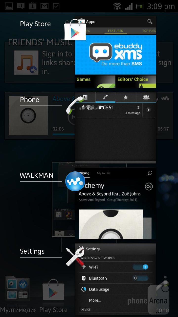 Sony Xperia acro S (Sony LT26w) Black (Ảnh 12)