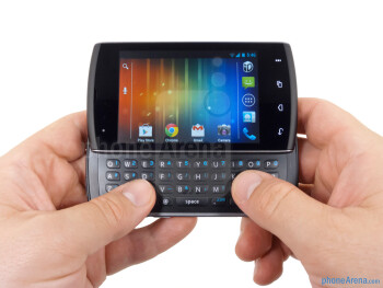 The Kyocera Rise is quite comfortable to hold - Kyocera Rise Review