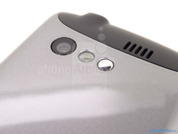 Camera - The back of the Kyocera Rise - Kyocera Rise Review