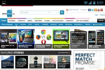 Web browsing with the Kyocera Rise - Kyocera Rise Review