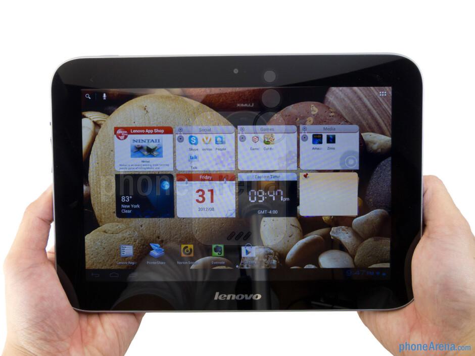 The Lenovo IdeaTab A2109 employs some premium choice materials - Lenovo IdeaTab A2109 Review