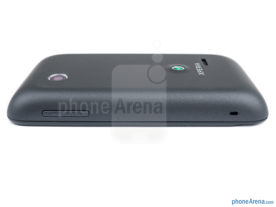 Volume rocker (right) - The sides of the Sony Xperia tipo - Sony Xperia tipo Review