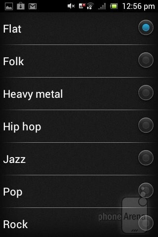 The Timescape UI music player - Sony Xperia tipo Review