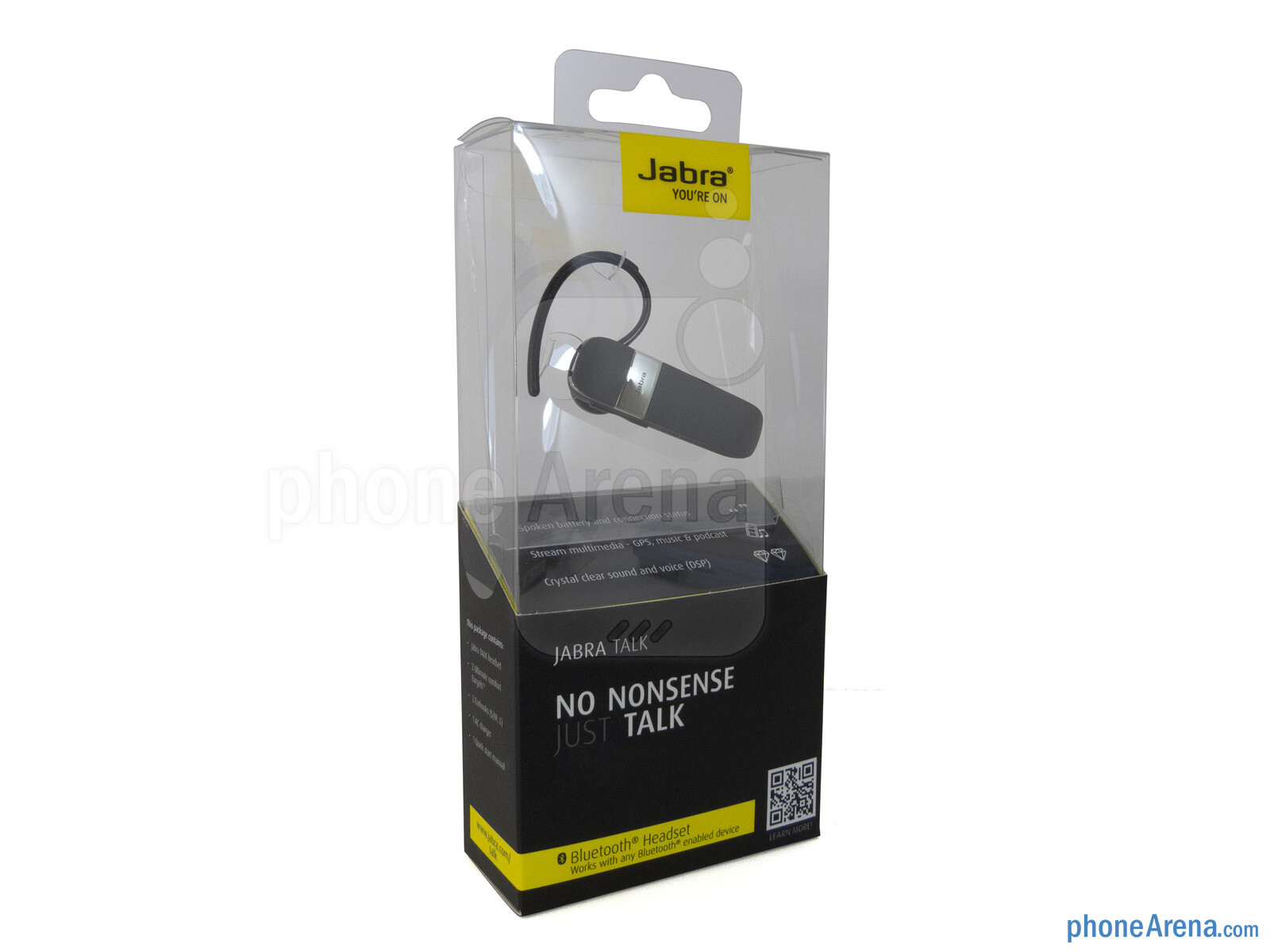 Jabra Talk Review 2 Bluetooth Headset With Hd Voice Technology Black The Is Ordinary Looking Its Design