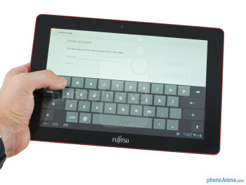 The Fujitsu Stylistic M532 indeed feels very solid in the hand - Fujitsu Stylistic M532 Review