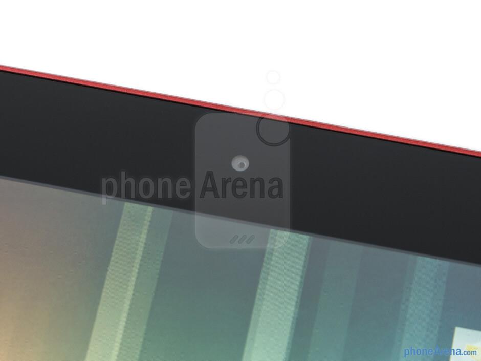 Front-facing camera - Fujitsu Stylistic M532 Review