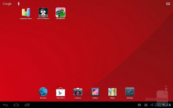Fujitsu hasn't touched the default Android 4.0.3 Ice Cream Sandwich interface much - Fujitsu Stylistic M532 Review