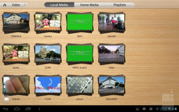 The CyberLink Mobile PowerDVD app - Fujitsu Stylistic M532 Review