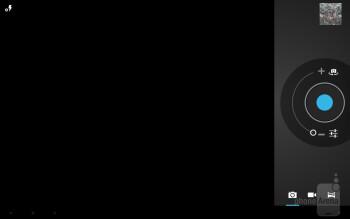 Camera interface - Fujitsu Stylistic M532 Review