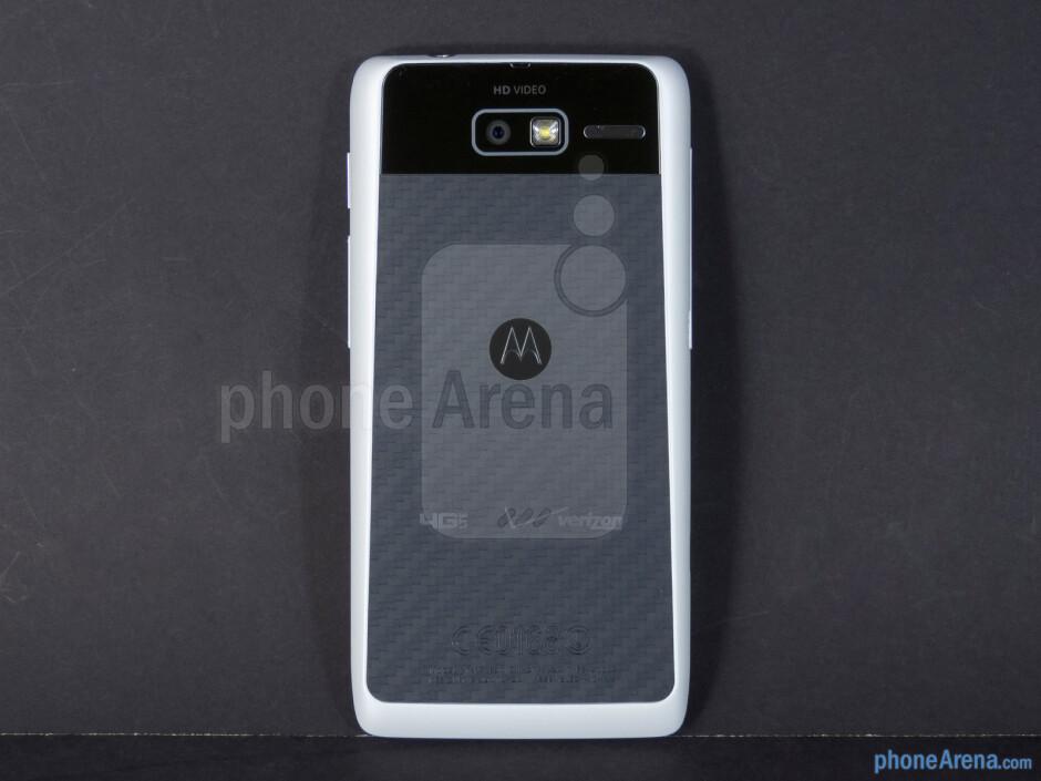 Back - Motorola DROID RAZR M Review