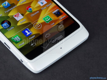 Android buttons - Motorola DROID RAZR M Review