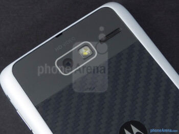 Rear camera - Motorola DROID RAZR M Review