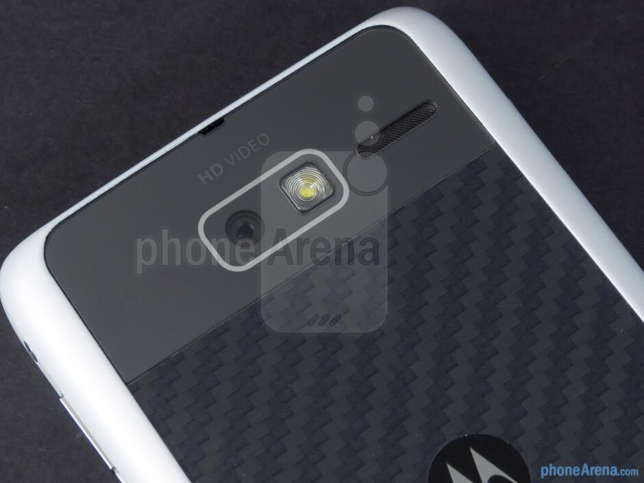 Rear camera - Motorola DROID RAZR M Review