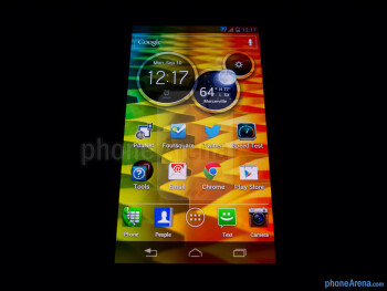 Viewing angles - Color reproduction - Motorola DROID RAZR M Review