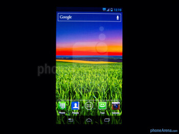 Color reproduction - Motorola DROID RAZR M Review