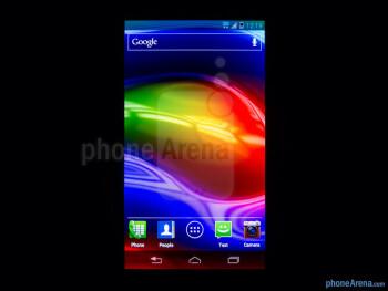 Color reproduction - Motorola DROID RAZR M Review