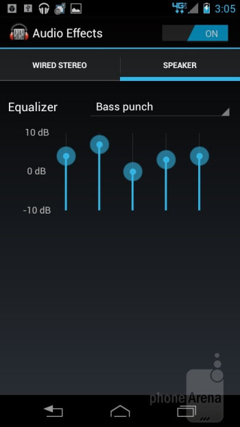 Google Play Music app - Motorola DROID RAZR M Review