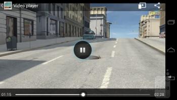 Video playback - Motorola DROID RAZR M Review